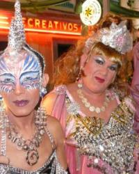 A Drag Queen at the Correos - 'Twitters from the Atlantic'