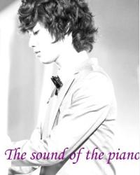 The sound of the piano