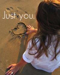 Just you.♥♥