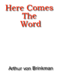 Here Comes the Word