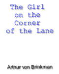 The Girl on the Corner of the Lane