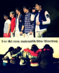 5 er det rene matematik {One Direction}