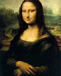 i want to be the monalisa