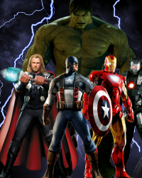 Avengers save the earth