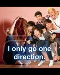 I only go One Direction. <3