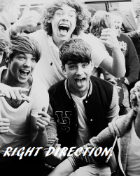 The Right Direction ~ 1D.