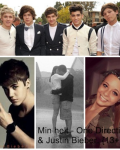 Min helt - One Direction & Justin Bieber. {13+}
