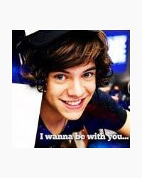 i wanna be with you...