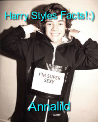 Harry Styles Facts!:)