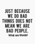 What are words?