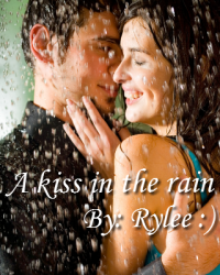 A kiss in the rain