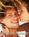 I'm yours, forever