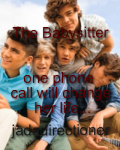 The Babysitter- one phone call will change her life...