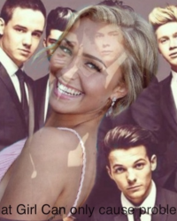 That Girl Can only cause problems! (1D) {+13}