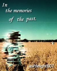 In the memories of the past.