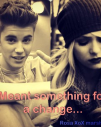 Meant Something For A Change (Justin Bieber)