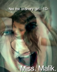 Not the ordinary girl. -1D-