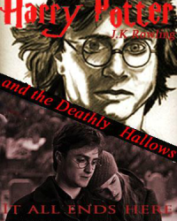 Harry Potter and the Deathly Hallows (Movellas cover competition)