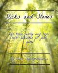 Sticks and Stones ([cover competition] One Direction Fanfiction)