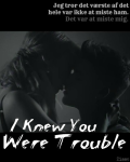 I Knew You Were Trouble | Justin Bieber