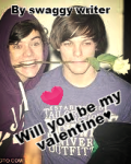 will you be my valentine (Larry stylinson)