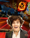 Let The Game Begin ❤ Harry Styles, THG, HP