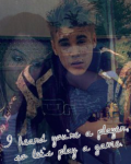 I heard you`re a player, so let`s play a game _ Justin Bieber