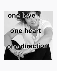 One Love. One Heart. One Direction...