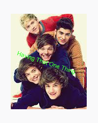 Having that One Thing