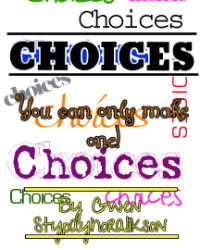Choices (One Direction fanfic)