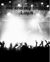 Me and my brother Louis