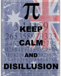 Keep Calm and Disillusion