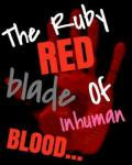 In The Sky- Chapter 3 - The Ruby Red Blade of Inhuman Blood