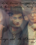 Emily, Niall, Zayn and Me (Rhianna and Louis)