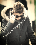 Disappeared forever - Justin Bieber.