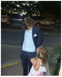 Do you think is hard  being Harry Styles Daughter