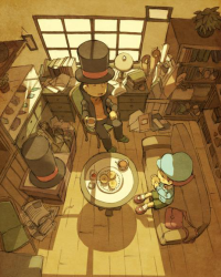 Professor Layton and the Wounded Past