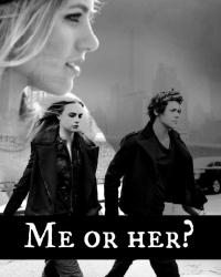Me or her?   One Direction