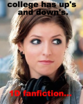 College has ups and downs. 1D fanfiction