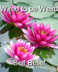 Wired to be Weird (Jamal Edwards self belief tshirt design)