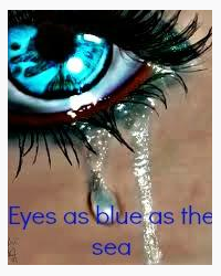 Eyes as blue as the sea
