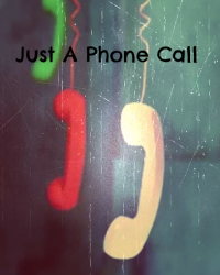 Just A Phone Call | oneshot | 1D