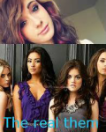 The real them (pretty little liars)