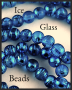 Ice Glass Beads