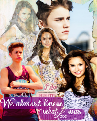 We almost knew what love was - Justin Bieber.