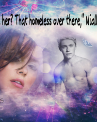 """See her? That homeless over there,"" Niall Said."