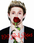 199 red roses