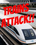 Trains attack