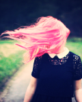 The Girl With The Pink Hair