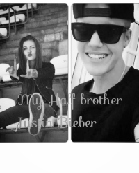 So you're my half brother? Justin Bieber